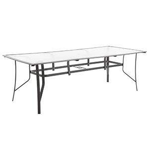 2.4m Alloy Table