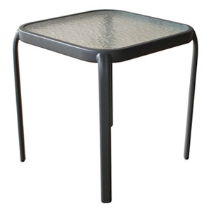 41cm steel side table