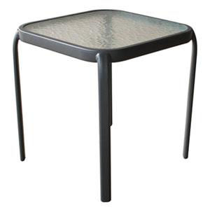 50cm steel side table