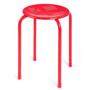 Lemon stacking stool - red