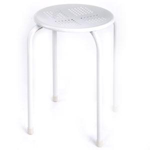 Lemon stacking stool - white