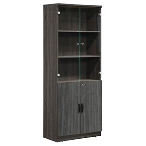 Koga Mahogany 5-tier bookcase
