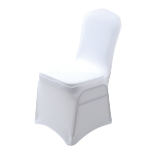 Universal chair cover - white